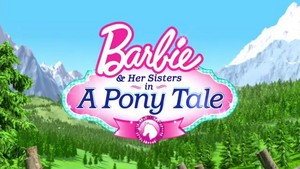 Barbie and her sisters in a Ponytale