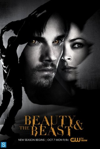 Beauty and the Beast (CW) Обои probably with Аниме and a portrait entitled Beauty and the Beast - Season 2 - Promotional Poster
