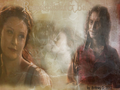 Belle & Rumpelstiltskin - rumpel-and-belle wallpaper