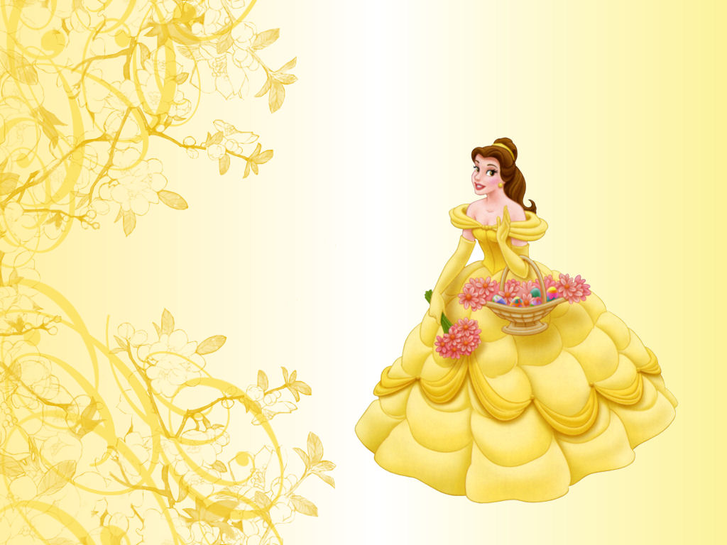Disney princess images belle hd wallpaper and background for Belle image hd