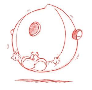 Blimp Yoshi