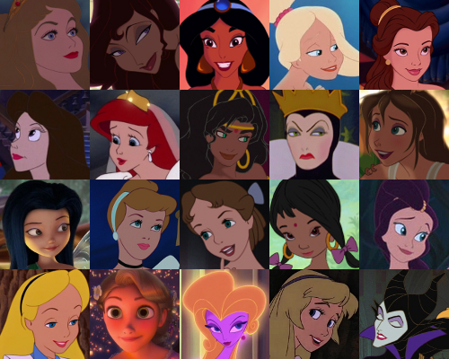 Disney Females wallpaper entitled BraBrief's superiore, in alto 20 Of Disney Prettiest Animated Females