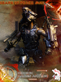 Calvin's Custom One Sixth Gears of Peace MKII Riddick  - gears-of-war photo