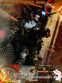 Calvin's Custom One Sixth Scale Gears of Peace MKII Hermes  - gears-of-war photo