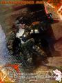 Calvin's Custom One Sixth Scale Gears of Peace MKII Hermes