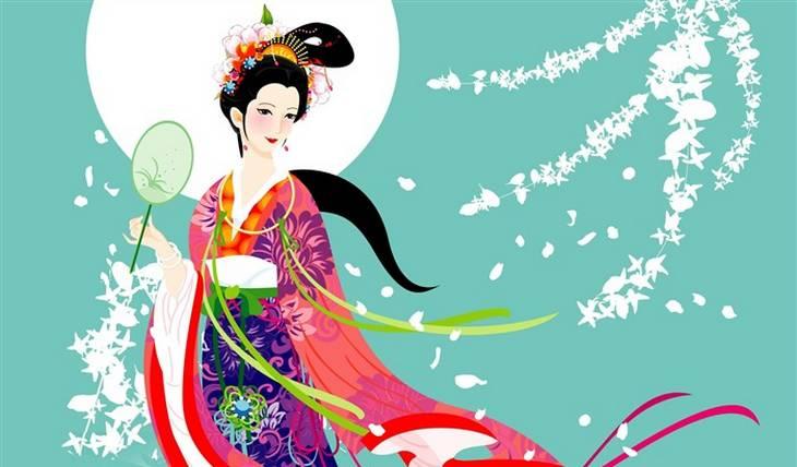 Chinese Moon Goddess - Moon Fan Art (35483293) - Fanpop