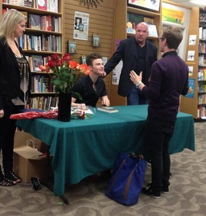 Chris Colfer And Tyler Oakley!