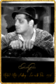 Clark Gable Selected Filmography  - clark-gable photo
