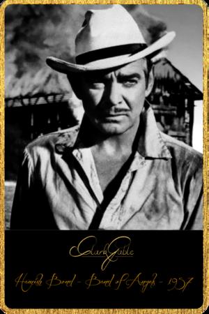 Clark Gable Selected Filmography