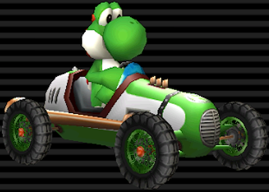 mario kart wii images classic dragster yoshi hd wallpaper. Black Bedroom Furniture Sets. Home Design Ideas