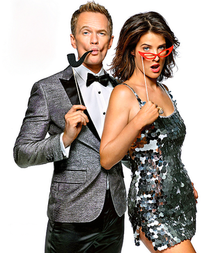 Cobie & Neil in the EW Portraits