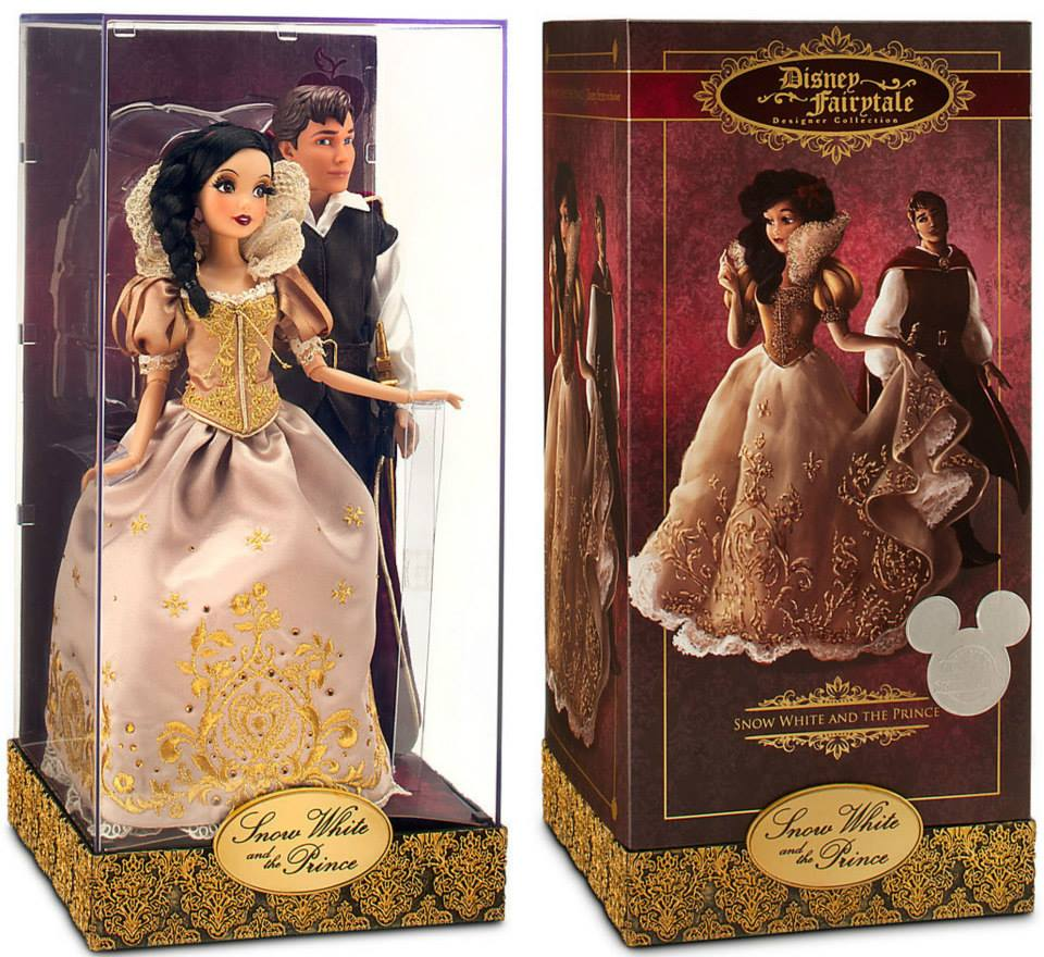 D23 Exclusive dhahabu Snow White and Prince