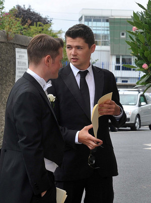 Damian @ Paul & Dominques wedding in Ireland