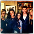 Damian with some other wedding guests before the big day - damian-mcginty photo