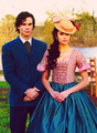 Damon & Katherine  - the-vampire-diaries-tv-show photo