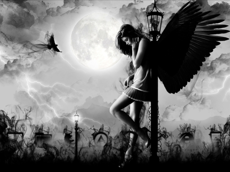 Fantasy images Dark angel <3 HD wallpaper and background photos