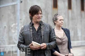 Daryl and Carol Season 4 Still