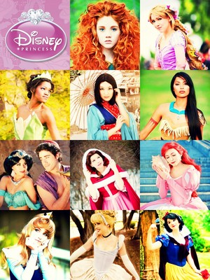 Disney Princess Cosplay