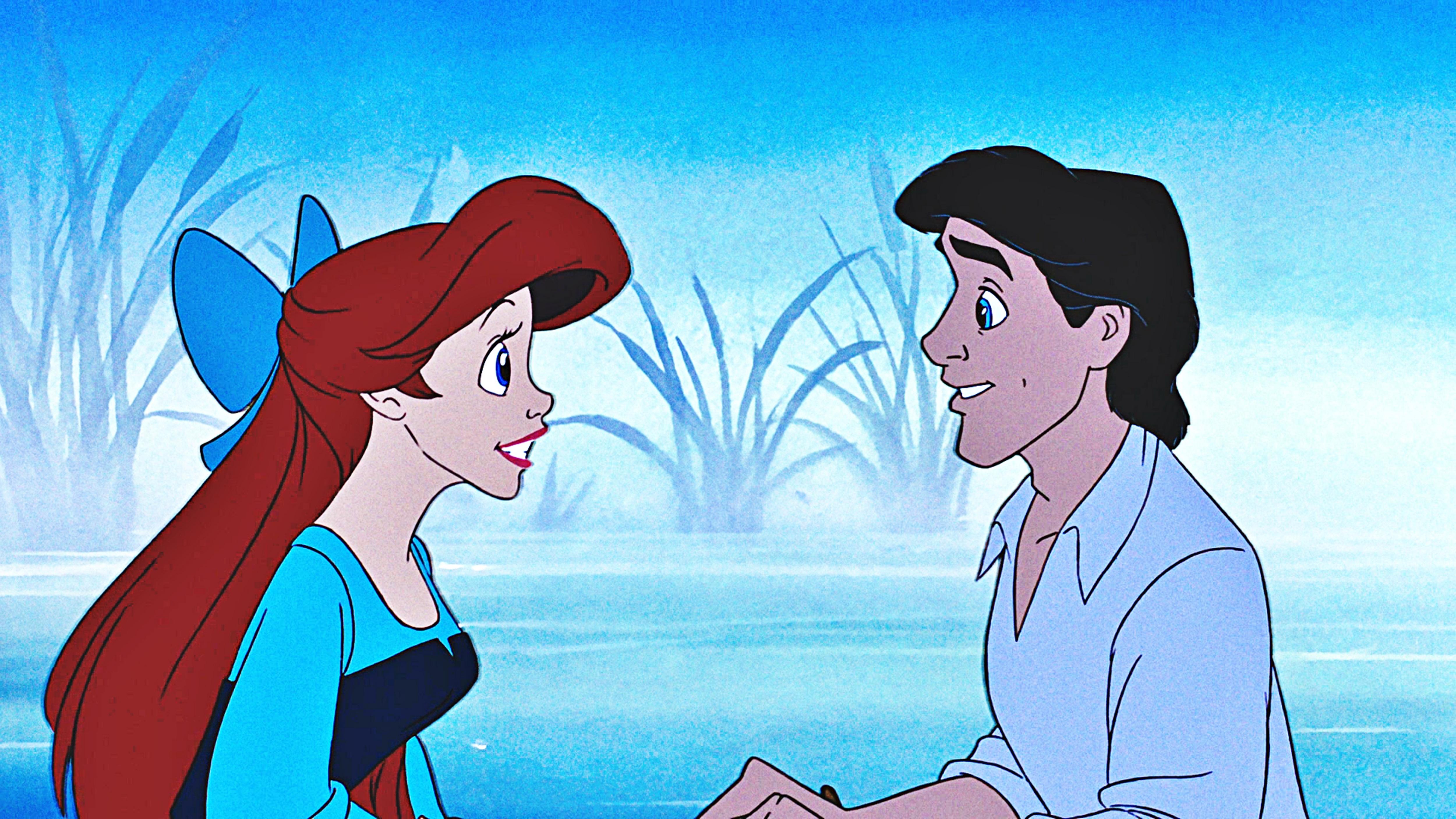 Disney Princess Screencaps - Princess Ariel & Prince Eric