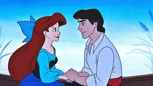 迪士尼 Princess Screencaps - Princess Ariel & Prince Eric