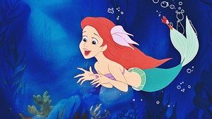Disney Princess Screencaps - Princess Ariel & Sebastian