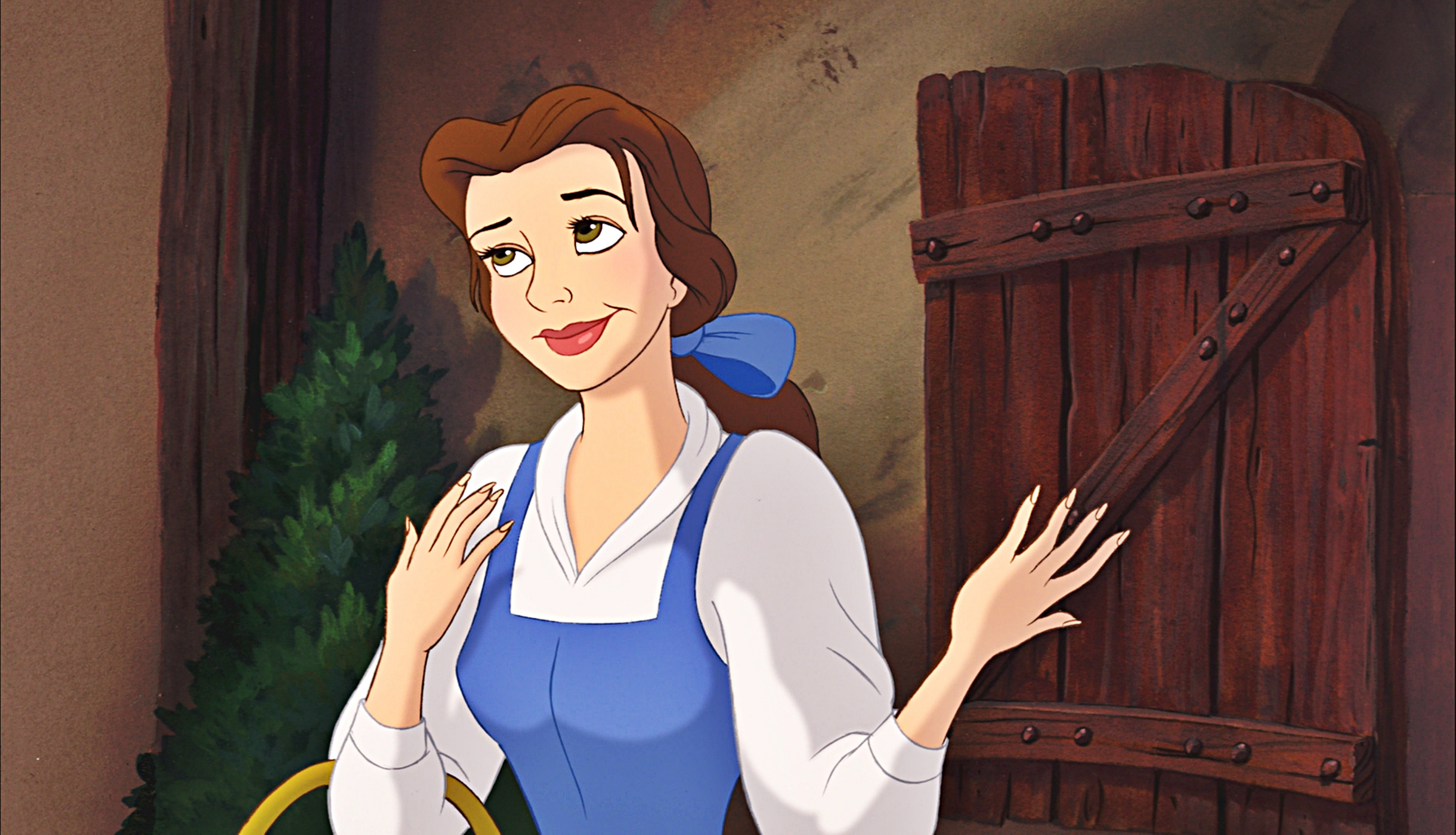 ডিজনি Princess Screencaps - Princess Belle