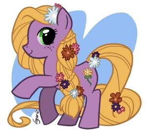 Disney princess ponys :)
