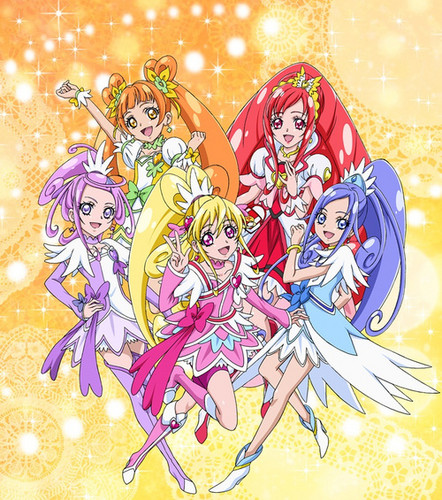 pretty cure 壁纸 possibly containing 日本动漫 called Doki Doki