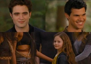 Edward,Jacob and Renesmee