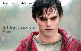 Warm Bodies Movie Hintergrund probably with a portrait titled Edward VS R Meme