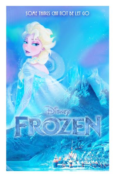 アナと雪の女王 Elsa Poster (Fan made)