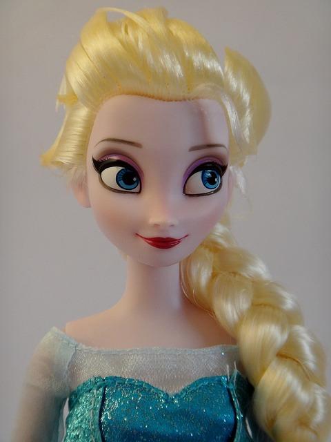 Snow Queen Elsa Doll Queen Elsa Doll Close up