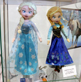 Elsa and Anna plush dolls