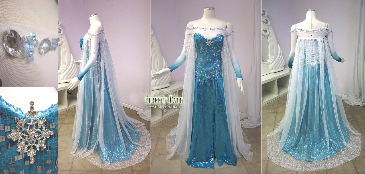 Irrevocable Passion: Frozen Elsa's Costume W.I.P