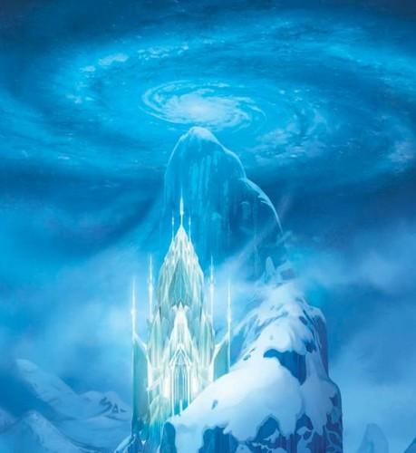 Elsa the Snow क्वीन वॉलपेपर called Elsa's Ice Palace