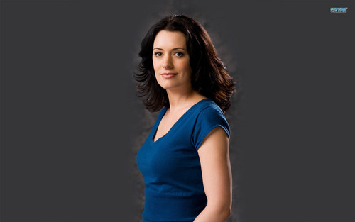 Criminal Minds wallpaper with a cocktail dress, a leotard, and tights titled Emily Prentiss