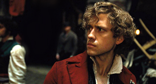 Les Miserables wolpeyper probably with a business suit entitled Enjolras