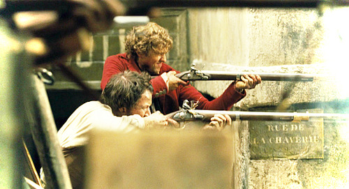 Les Miserables wolpeyper containing a manganganyon called Enjolras
