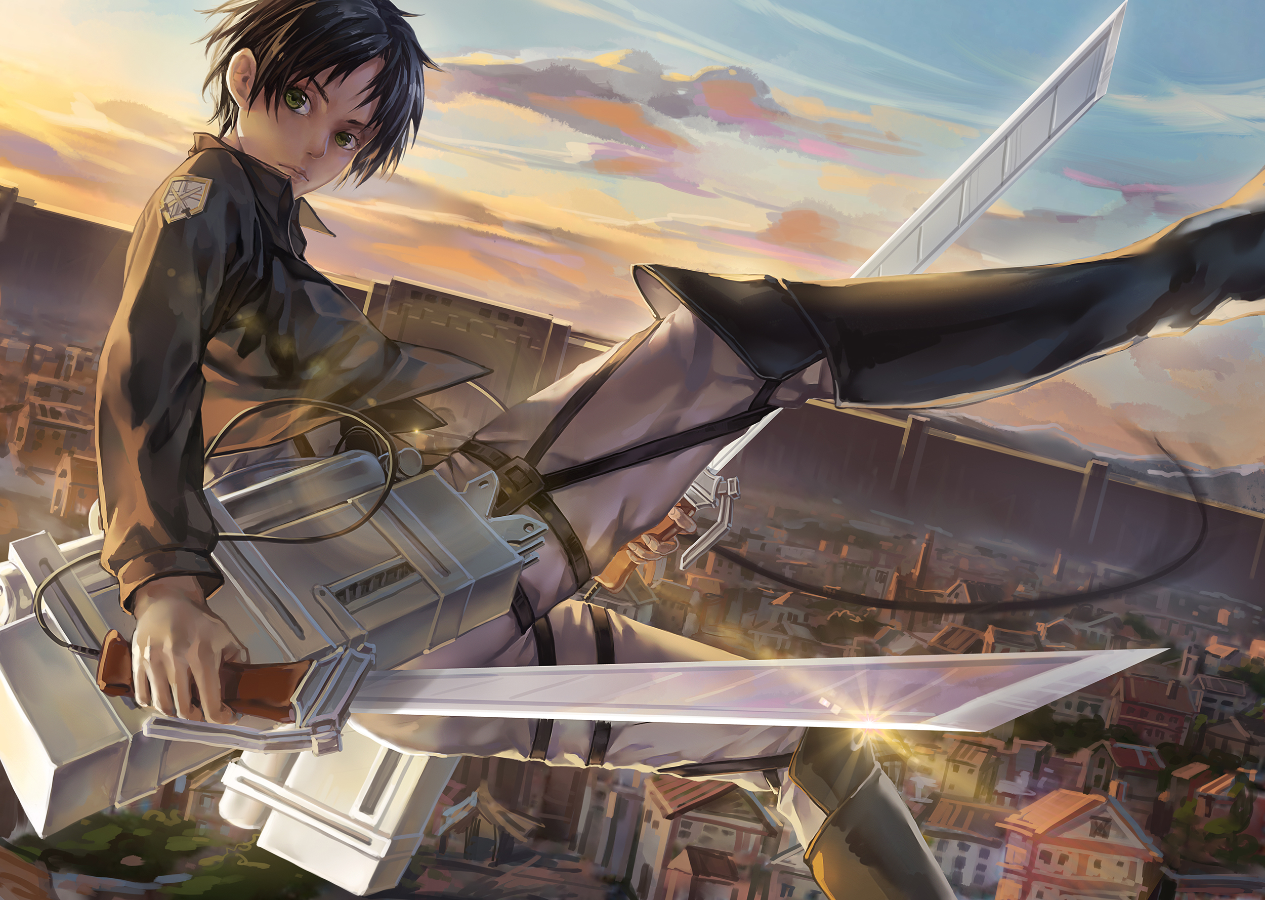 Attack On Titan Images Eren Jaeger Hd Wallpaper And Background