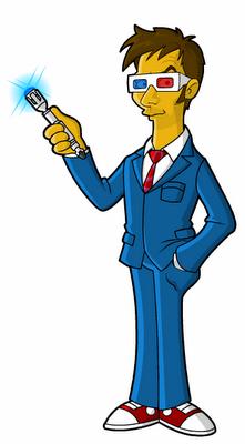 Fanart da Springfield Punx