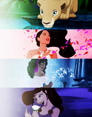 Female Disney