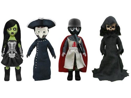 Living Dead Dolls پیپر وال probably with an overgarment, a surcoat, and an outerwear called Four Horsemen Of The Apocolypse