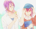 Free!(Rin and Gou)