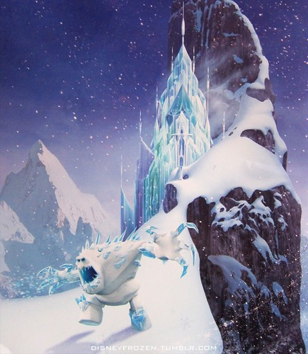 Frozen wallpaper called Frozen D23 Magazine