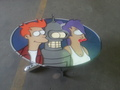 Futurama Metal Art Work! - futurama fan art
