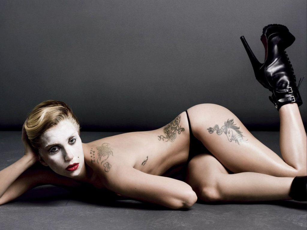 Gaga for V magazine