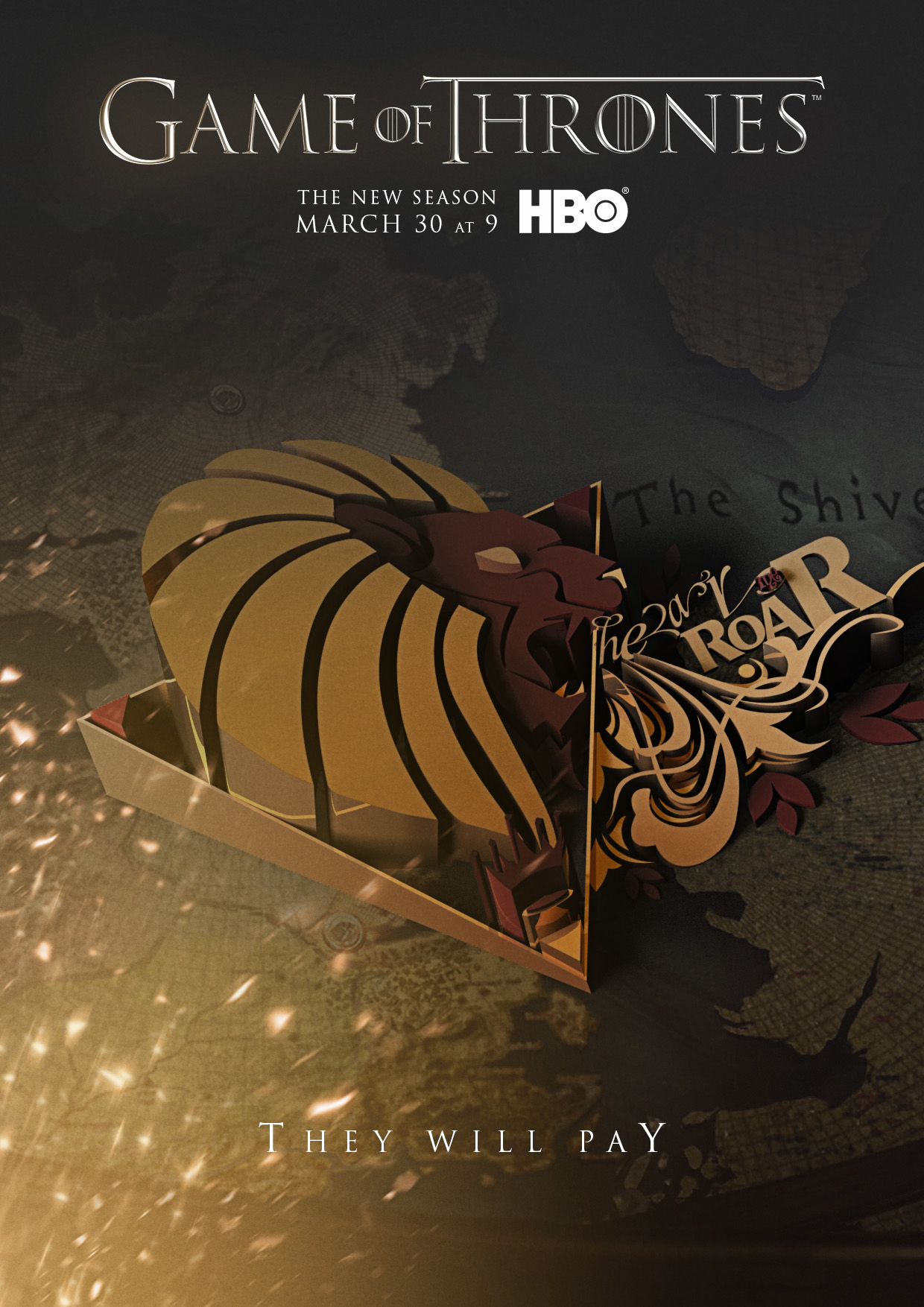 Game of Thrones Season 4 Cover