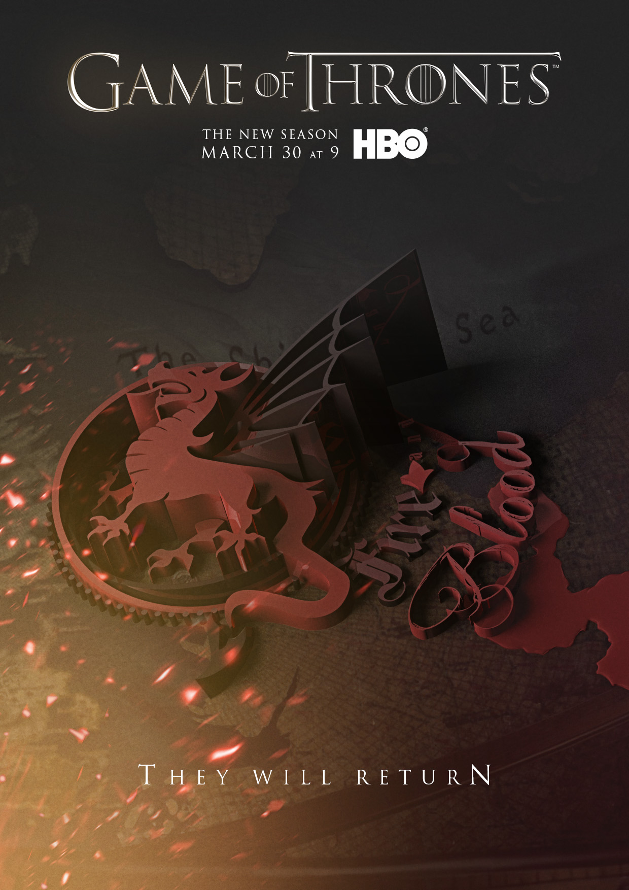 Game Of Thrones - Season 4 - Poster - Game of Thrones Fan ...