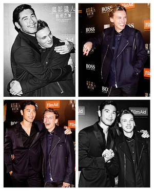 Godfrey and Jamie