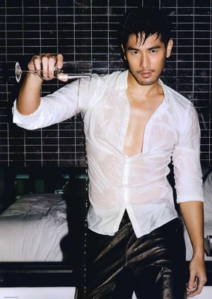 Godfrey for Men's Folio [September '13]